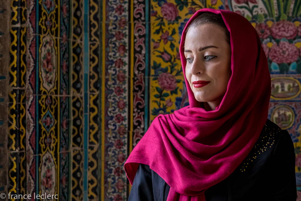 Iranian women are very elegant. Shiraz